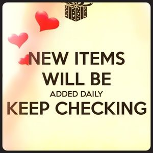New items added daily !!